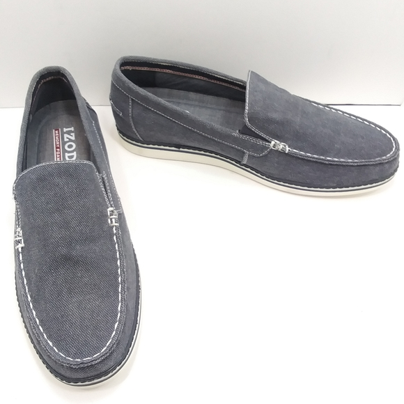 "👨IZOD ""Damiano"" Denim Loafers w/ Memory Foam"